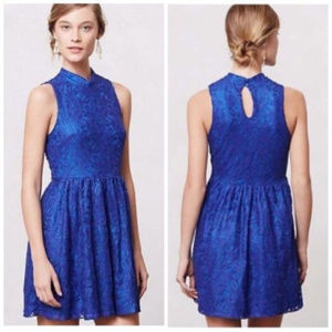 ANTHROPOLOGIE MOUINETTE SOEURS LACE DRESS